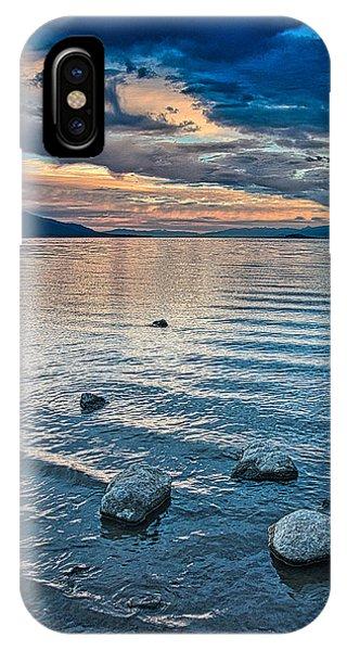 Rocky Lake Vista IPhone Case