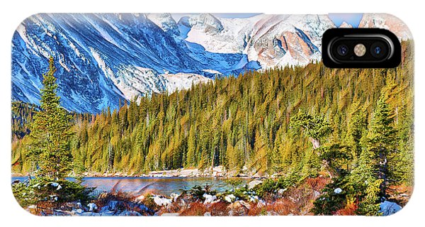 Indian Peaks Wilderness iPhone Case - Rocky Mountain High by Eric Glaser