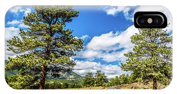 IPhone Case featuring the photograph Rocky Mountain Highway by James L Bartlett