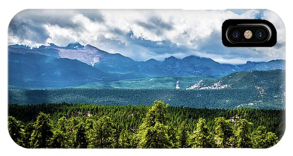 IPhone Case featuring the photograph Rocky Mountain Np I by James L Bartlett