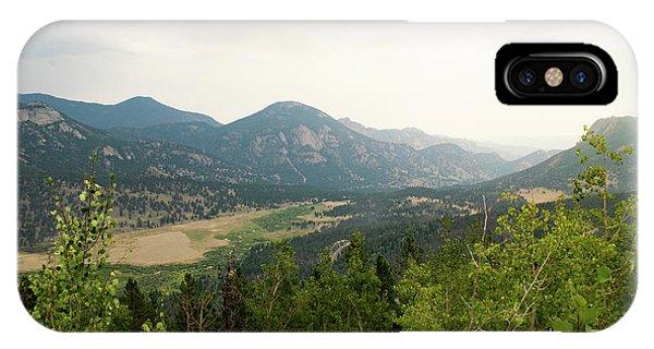 Rocky Mountain Overlook IPhone Case