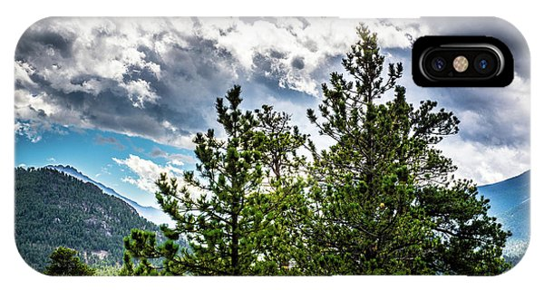 IPhone Case featuring the photograph Rocky Mountain Pines by James L Bartlett