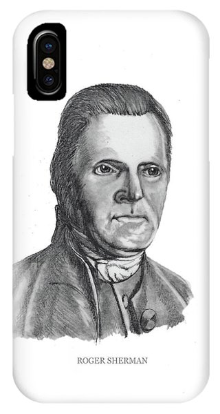 Roger Sherman IPhone Case