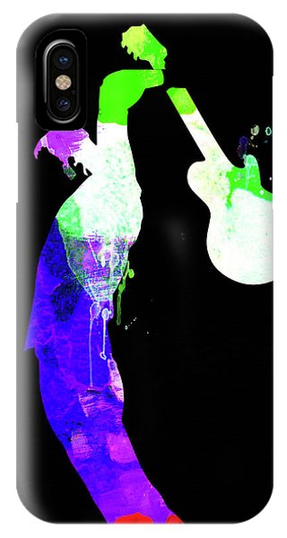 Print iPhone Case - Roger Watercolor II by Naxart Studio