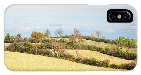 Rolling Hills In Fall IPhone Case