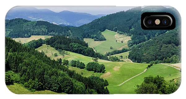 Rolling Hills Of The Black Forest IPhone Case