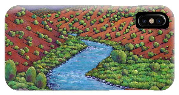River iPhone Case - Rolling Rio Grande by Johnathan Harris