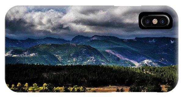 IPhone Case featuring the photograph Rolling Rockies by James L Bartlett