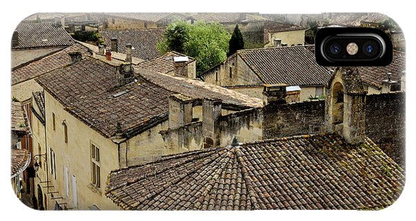 iPhone Case - Rooftops Of St. Emilion by Kathy Yates