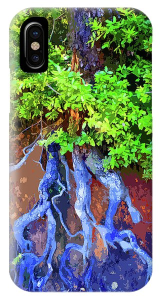 IPhone Case featuring the photograph Roots Of Life by Ben Upham III