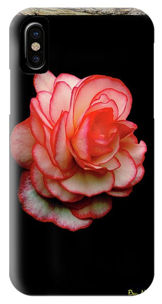 IPhone Case featuring the photograph Rose by Ben Upham III