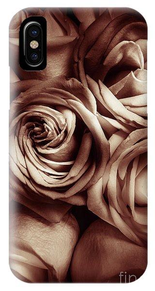 Garden Wall iPhone Case - Rose Carmine by Jorgo Photography - Wall Art Gallery