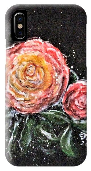 Rose In Light IPhone Case