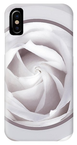 Simple iPhone Case - Rose Moon by Susan Maxwell Schmidt