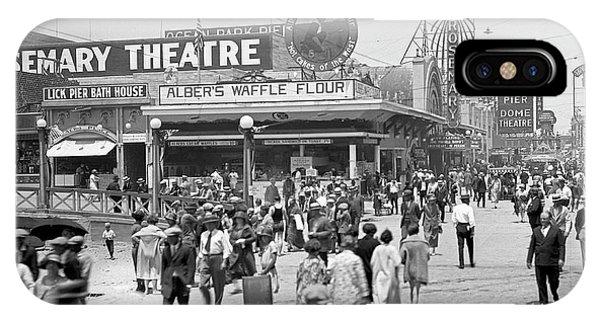 Rosemary Theater Santa Monica IPhone Case