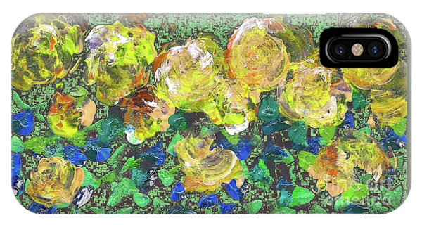 Roses 1001 Yellow IPhone Case