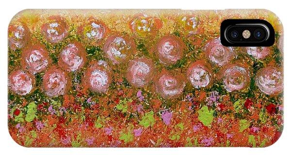 Roses Of Autumn IPhone Case