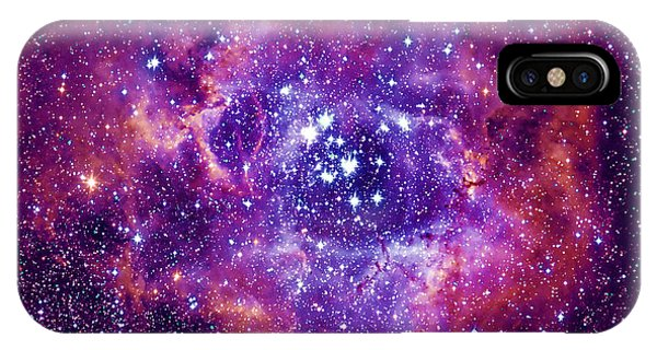 Earth Orbit iPhone Case - Rosetta Nebula by Mironov