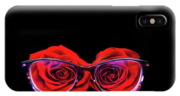 Rosy Vision IPhone Case