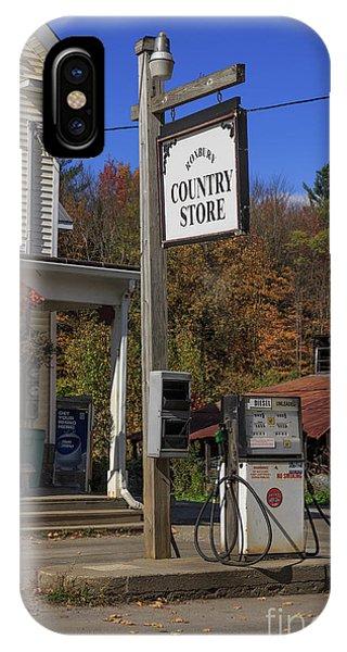 Roxbury iPhone Case - Roxbury Country Store Roxbury Vermont by Edward Fielding