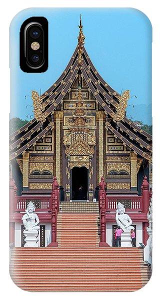 IPhone Case featuring the photograph Royal Park Rajapruek Grand Pavilion Dthcm2585 by Gerry Gantt