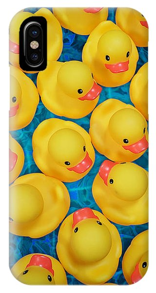 Rubber Duck Meet And Greet IPhone Case