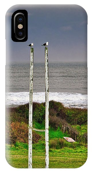 Rugby Goal - Hokitika - New Zealand IPhone Case