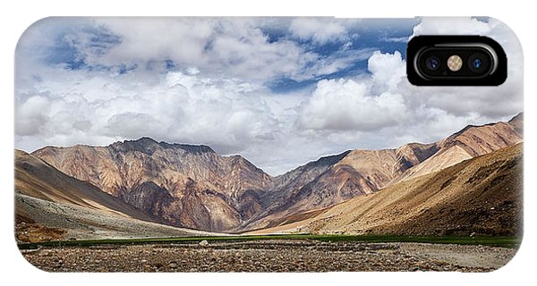 IPhone Case featuring the photograph Rugged Himalayan Mountains by Whitney Goodey