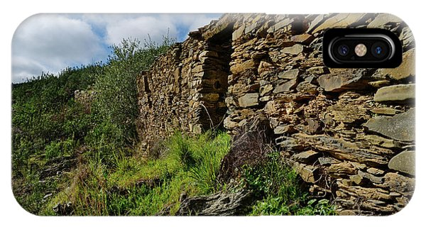 Ruins Of A Schist Cottage In Alentejo IPhone Case