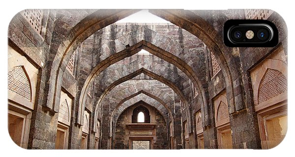 Dome iPhone Case - Ruins Of Afghan Architecture In Mandu by Igor Plotnikov