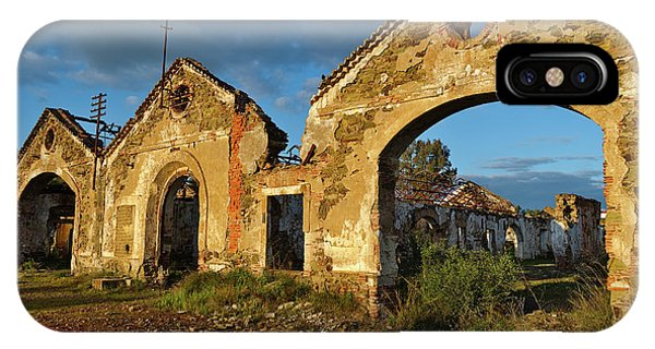 Ruins Of The Abandoned Mine Of Sao Domingos. Portugal IPhone Case
