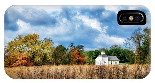 Faith iPhone Case - Rural Church by Tom Mc Nemar