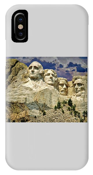 IPhone Case featuring the photograph Rushmore by Edmund Nagele