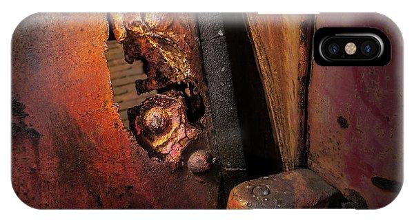Rusty Hinge IPhone Case