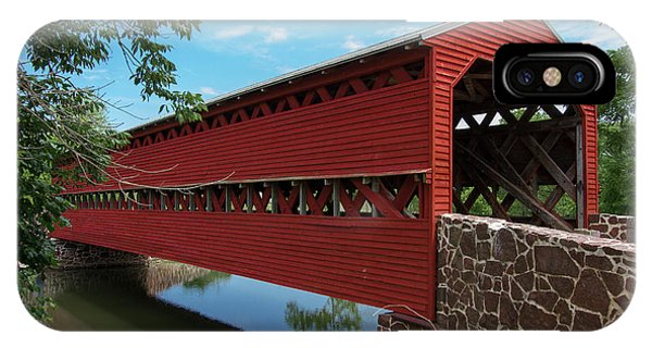 Sachs Covered Bridge IPhone Case