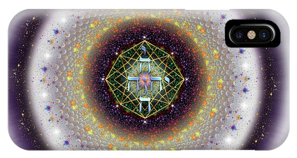 IPhone Case featuring the digital art Sacred Geometry 729 by Endre Balogh