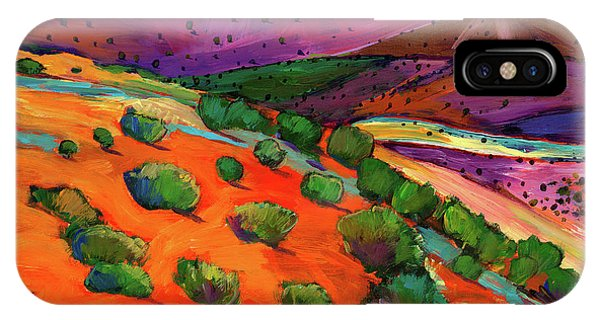 Colorful iPhone Case - Sage Slopes by Johnathan Harris