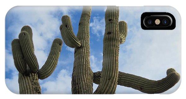Saguaro Clique IPhone Case