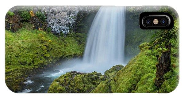 IPhone Case featuring the photograph Sahalie Falls, Summer by Matthew Irvin