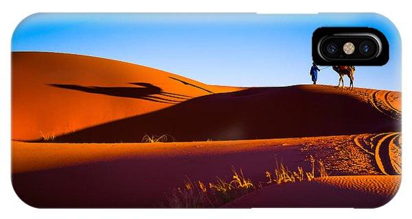 Heat iPhone Case - Sahara Desert Sand by Stepanov Ilya