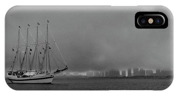 Sail In The Fog IPhone Case
