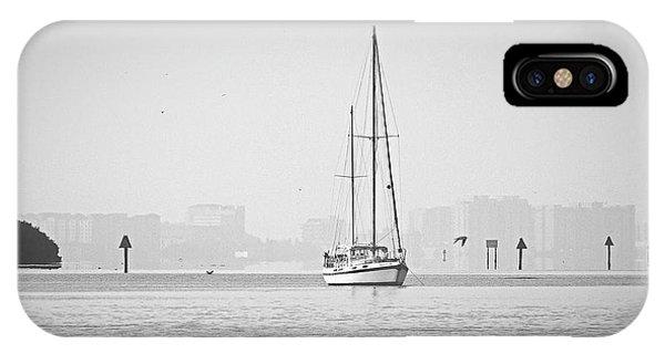 Sail Out Of Sarasota IPhone Case