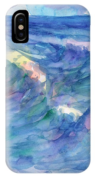 Sailboat In The Sea IPhone Case