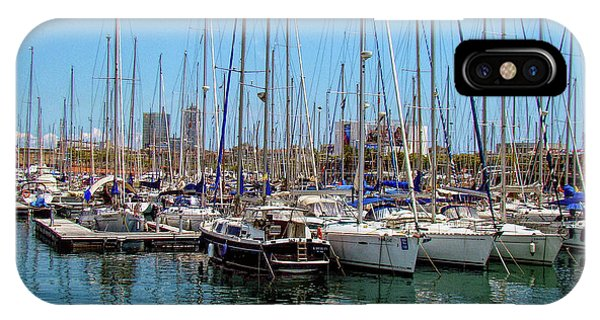 Sailboats Galore IPhone Case