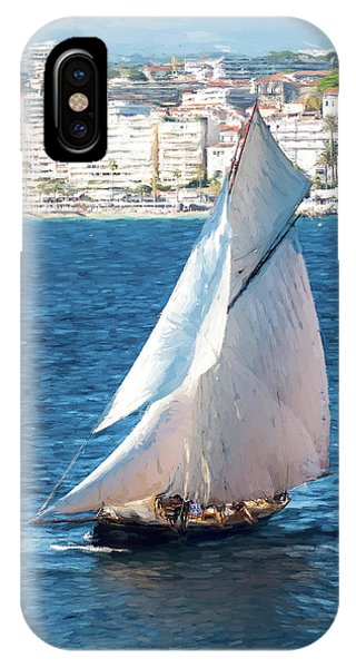 Sailing At Cannes Portrait Two IPhone Case