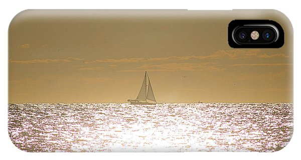 IPhone Case featuring the photograph Sailing On Sunshine by Robert Banach