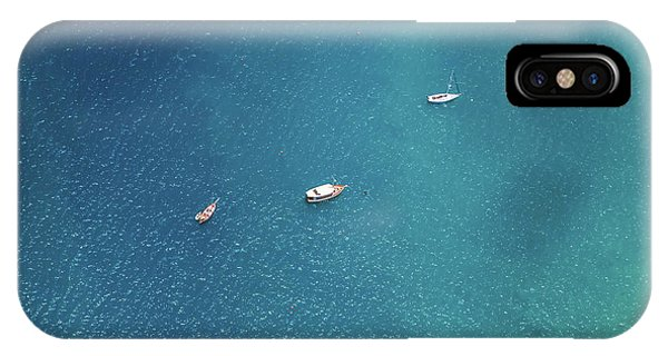 Teal iPhone Case - Sailing On The Blue by Az Jackson