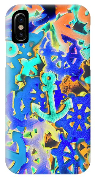 Abstract Figurative iPhone Case - Sailing Pop Art by Jorgo Photography - Wall Art Gallery