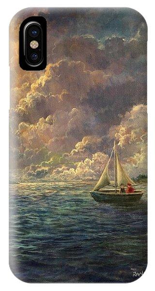 Sailing The Divine Light IPhone Case
