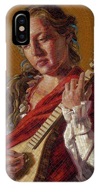 Saint Cecelia Mosaic IPhone Case